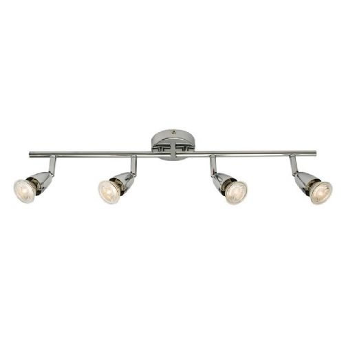 Chrome effect plate Spotlight 60991 by Endon